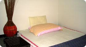 店内ベッド